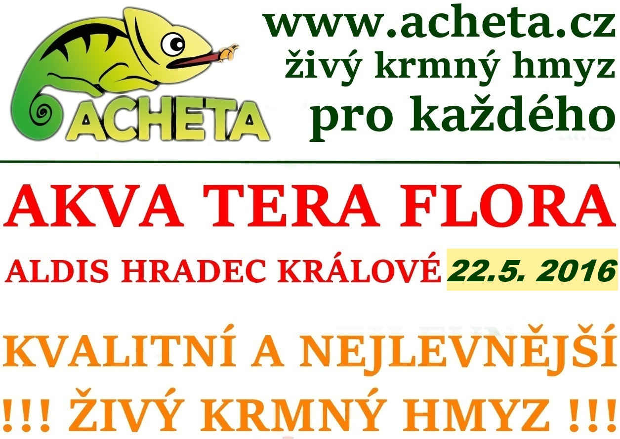 Burza Akva Tera Flora - Hradec Králové ALDIS - 22. května 2016