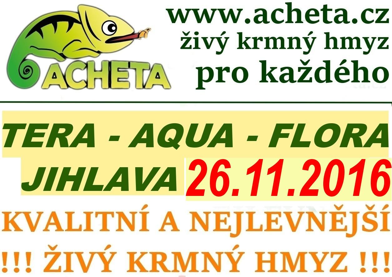 Burza Tera - Aqua - Flora - JIHLAVA - 26. listopad 2016