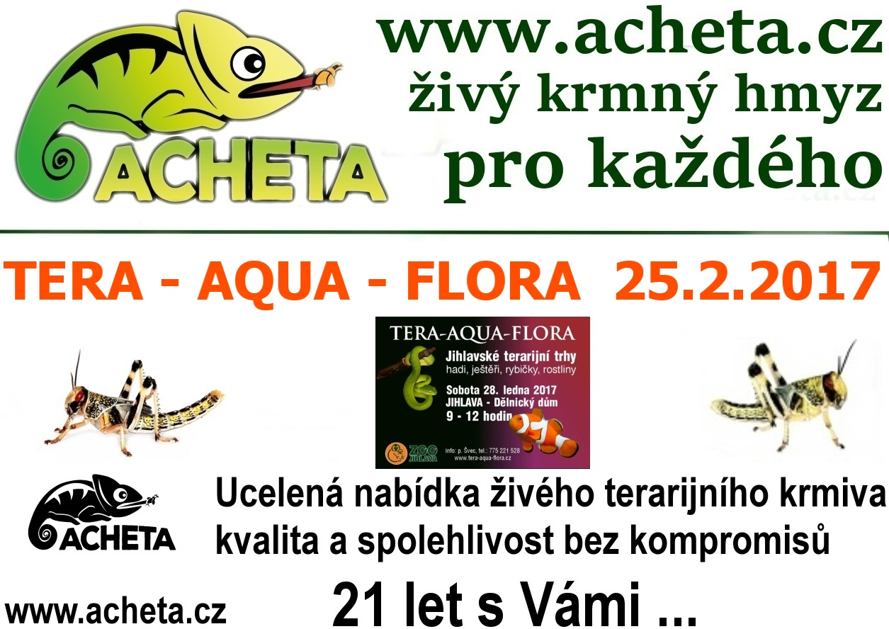 Burza Tera - Aqua - Flora - JIHLAVA - 25. února 2017