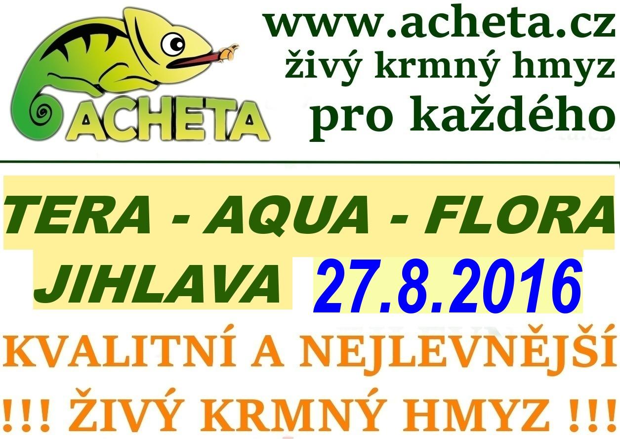 Burza Tera - Aqua - Flora - JIHLAVA - 27. srpna 2016