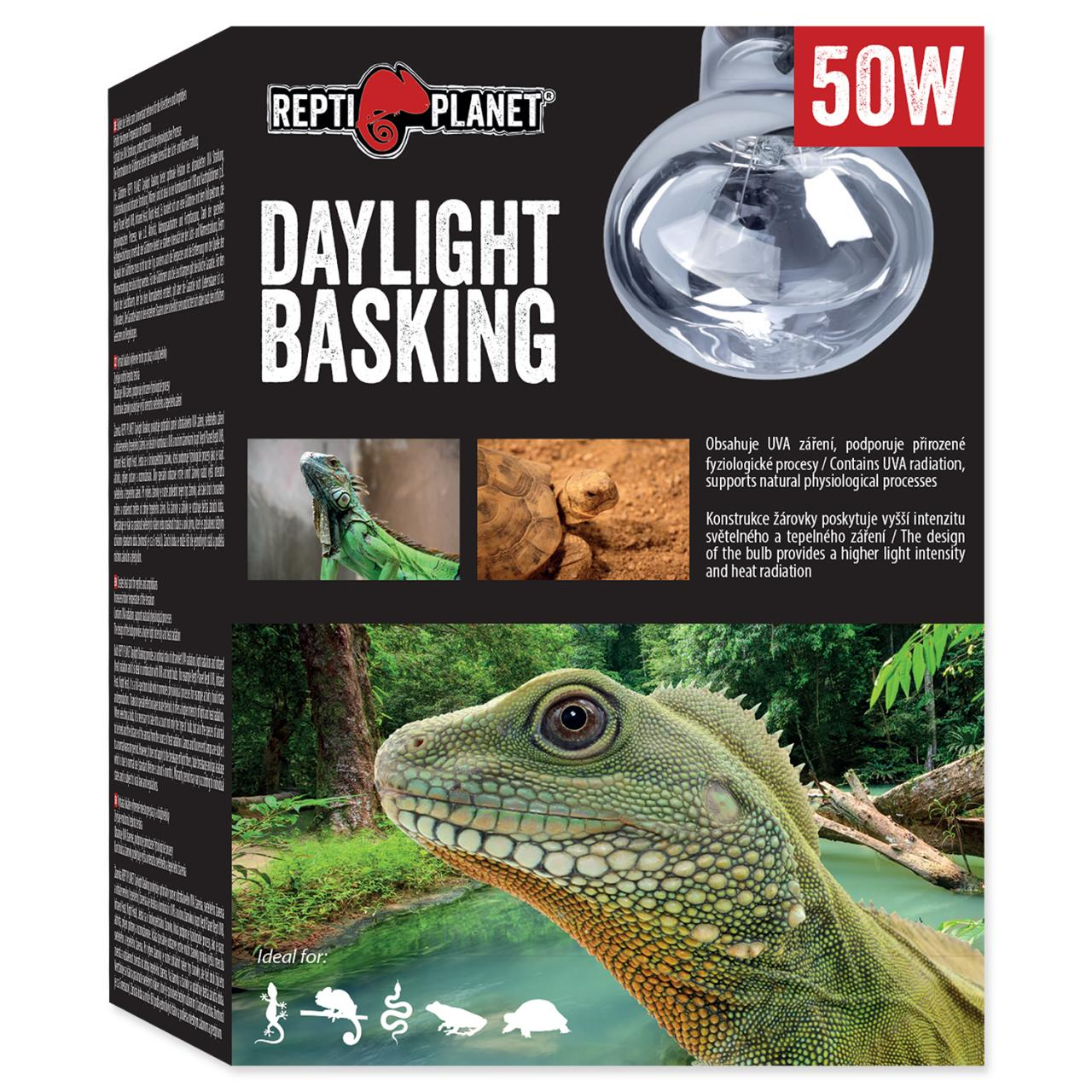 Žárovka REPTI PLANET Daylight Basking Spot (50W)