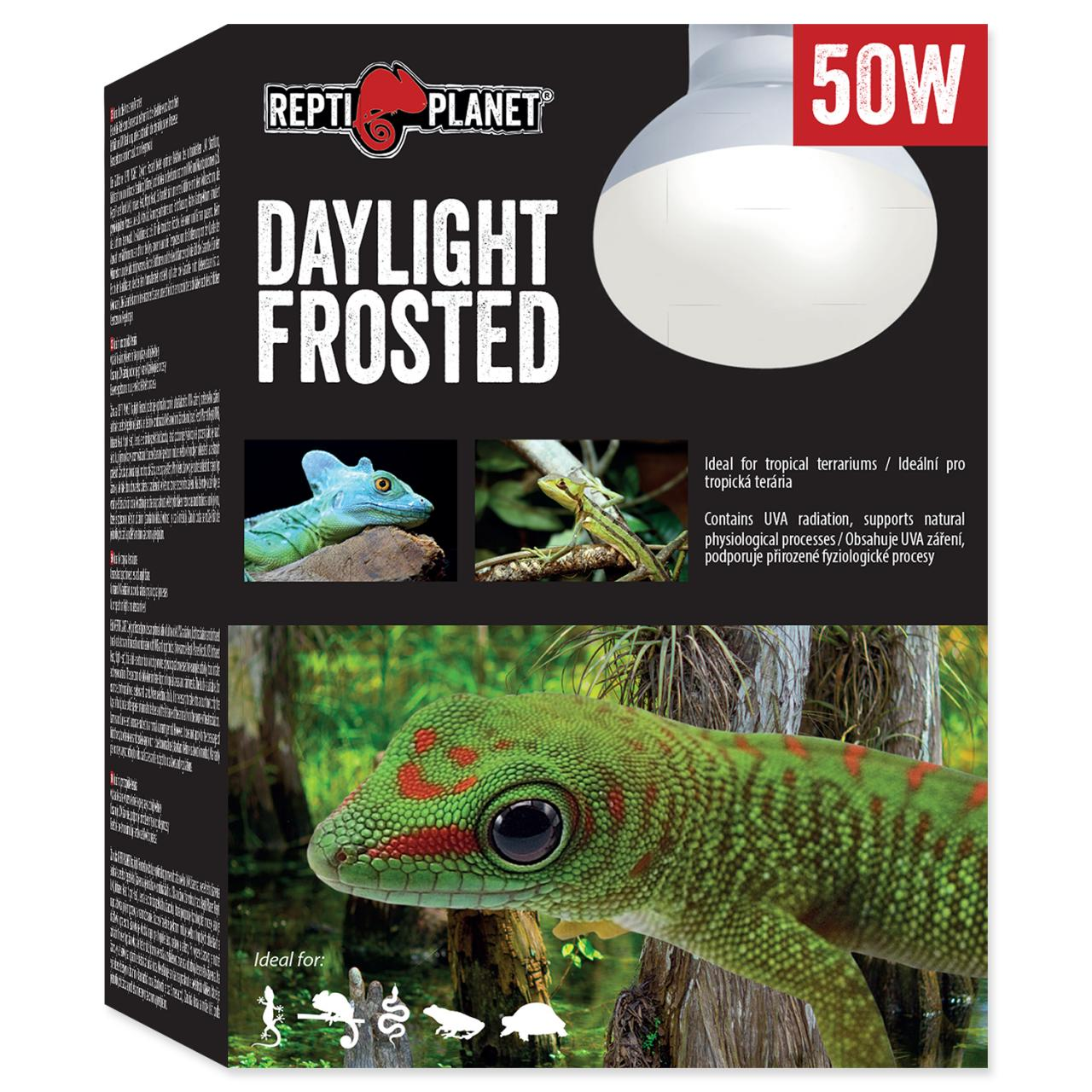 Žárovka REPTI PLANET Daylight Frosted (50W)