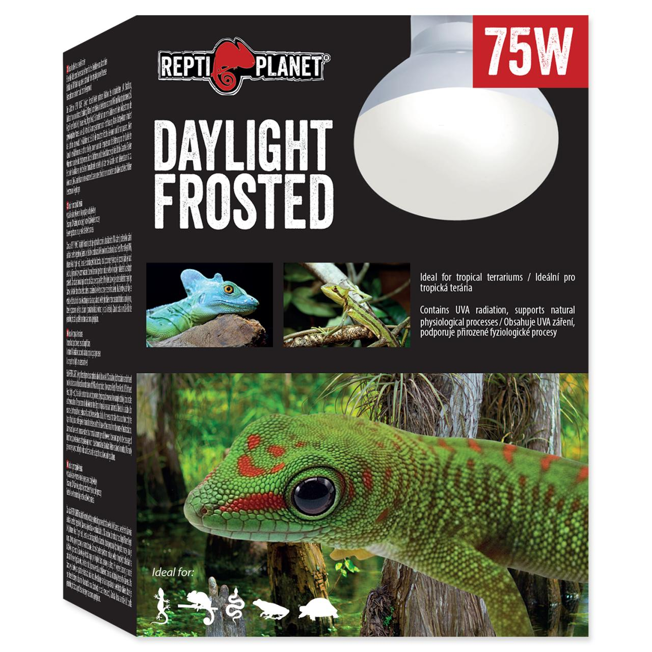 Žárovka REPTI PLANET Daylight Frosted (75W)